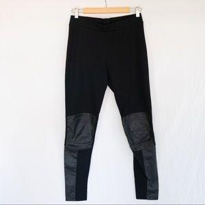 Faux Leather Legging H&M